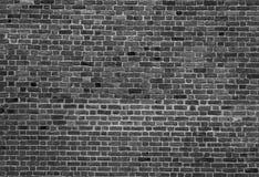 Γραπτό υπόβαθρο του παλαιού εκλεκτής ποιότητας τουβλότοιχος Στοκ φωτογραφία με δικαίωμα ελεύθερης χρήσης