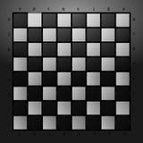 Γραπτό checkerboard σε ένα υπόβαθρο γυαλιού επίσης corel σύρετε το διάνυσμα απεικόνισης Στοκ φωτογραφίες με δικαίωμα ελεύθερης χρήσης