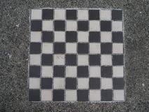 Γραπτό Checkerboard Στοκ φωτογραφία με δικαίωμα ελεύθερης χρήσης