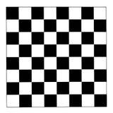 Γραπτό checkerboard Στοκ Εικόνα