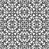 Γραπτό swirly σχέδιο Στοκ εικόνα με δικαίωμα ελεύθερης χρήσης