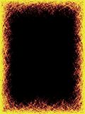 γρατσουνιά κίτρινη Ελεύθερη απεικόνιση δικαιώματος