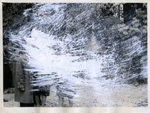 Γρατσουνισμένη τρύγος φωτογραφία Στοκ εικόνα με δικαίωμα ελεύθερης χρήσης