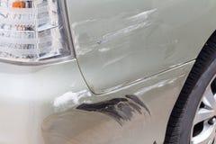 Γρατσουνισμένο χρώμα αυτοκινήτων στοκ φωτογραφίες με δικαίωμα ελεύθερης χρήσης
