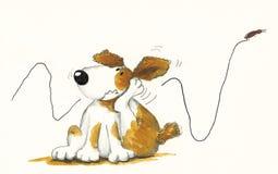 γρατσούνισμα σκυλιών απεικόνιση αποθεμάτων