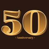 Γραφή, εορτασμός, επέτειος του αριθμού 50 - 50η επέτειος έτους απεικόνιση αποθεμάτων