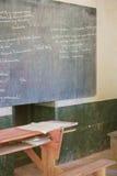 Γραφεία παλιού σχολείου στοκ εικόνα με δικαίωμα ελεύθερης χρήσης