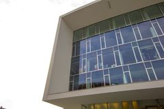 Γραφεία σε ένα σύγχρονο κτήριο Στοκ Εικόνες