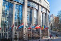 Γραφεία του Ευρωπαϊκού Κοινοβουλίου Στοκ Φωτογραφίες