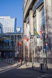 Γραφεία του Ευρωπαϊκού Κοινοβουλίου Στοκ φωτογραφία με δικαίωμα ελεύθερης χρήσης