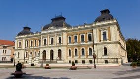 Γραφείου γυμνάσιο Αγίου Arsenije στοκ φωτογραφία με δικαίωμα ελεύθερης χρήσης