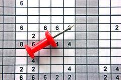 Γραφείου κουμπί, κόκκινο χρώμα στο σχέδιο, επιχειρησιακό θέμα εργασίας μηχανικών στοκ φωτογραφία με δικαίωμα ελεύθερης χρήσης