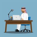 Γραφείο ανθρώπων επιχειρησιακών γυναικών, διανυσματικά κινούμενα σχέδια απεικόνισης characte στοκ εικόνα με δικαίωμα ελεύθερης χρήσης