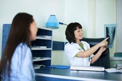 Γραφείο γιατρού στοκ φωτογραφία με δικαίωμα ελεύθερης χρήσης