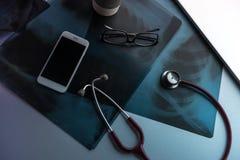 Γραφείο γιατρού Στοκ Φωτογραφίες