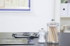 Γραφείο γραφείων γιατρού Στοκ φωτογραφίες με δικαίωμα ελεύθερης χρήσης