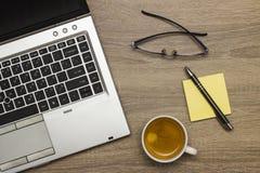 γραφείο γραφείων επιχειρησιακής έννοιας λογιστικής Στοκ Εικόνες