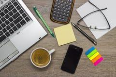 γραφείο γραφείων επιχειρησιακής έννοιας λογιστικής Στοκ φωτογραφία με δικαίωμα ελεύθερης χρήσης