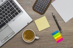 γραφείο γραφείων επιχειρησιακής έννοιας λογιστικής Στοκ Φωτογραφία
