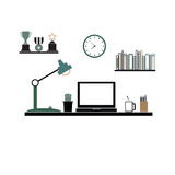 Γραφείο γραφείων color1 ελεύθερη απεικόνιση δικαιώματος