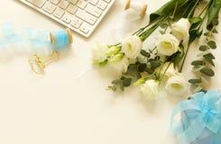 Γραφείο γυναικών ` s, έννοια διακοπών Στοκ εικόνες με δικαίωμα ελεύθερης χρήσης