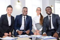 γραφείο διασκέψεων επιχειρησιακών εδρών που απομονώνεται πέρα από το λευκό Στοκ εικόνες με δικαίωμα ελεύθερης χρήσης