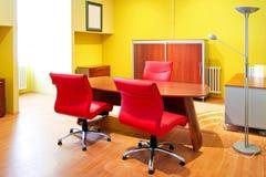 γραφείο κίτρινο Στοκ φωτογραφίες με δικαίωμα ελεύθερης χρήσης