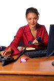 γραφείο κλήσης στοκ φωτογραφία με δικαίωμα ελεύθερης χρήσης