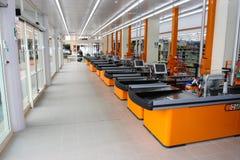 Γραφείο μετρητών σε ένα νέο κατάστημα Στοκ εικόνα με δικαίωμα ελεύθερης χρήσης