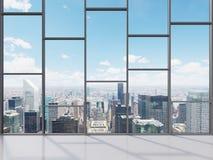 Γραφείο με το μεγάλο παράθυρο