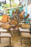 Γραφείο παλιού σχολείου. Στοκ Εικόνες