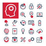 Γραφείο, παραγωγικότητα και επικοινωνία (μέρος 2) Στοκ Εικόνες