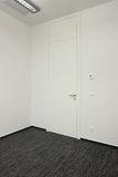 γραφείο πορτών Στοκ φωτογραφία με δικαίωμα ελεύθερης χρήσης