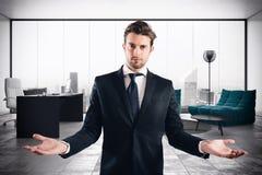 Γραφείο πολυτέλειας επιχειρηματιών στοκ εικόνες