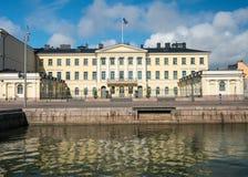 Γραφείο Προέδρου στο Ελσίνκι, Φινλανδία Στοκ φωτογραφία με δικαίωμα ελεύθερης χρήσης