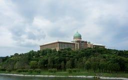 Γραφείο πρωθυπουργών σε Putrajaya, Μαλαισία Στοκ εικόνες με δικαίωμα ελεύθερης χρήσης
