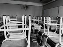 Γραφείο σε μια τάξη Στοκ εικόνα με δικαίωμα ελεύθερης χρήσης
