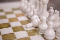 Γραφείο σκακιού Στοκ Εικόνες