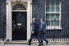 Γραφείο του πρωθυπουργού της Μεγάλης Βρετανίας Στοκ Φωτογραφία