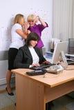 γραφείο υπαλλήλων Στοκ φωτογραφία με δικαίωμα ελεύθερης χρήσης