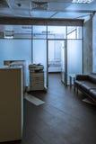 Γραφείο υποδοχής γραφείων Στοκ εικόνες με δικαίωμα ελεύθερης χρήσης