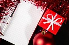 γραφείο Χριστουγέννων Στοκ Φωτογραφίες