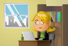 γραφείο διανυσματική απεικόνιση