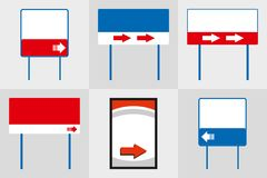 Γραφείων εξωτερική μνημείων κατασκευή διαφήμισης συστημάτων σηματοδότησης σημαδιών σημαδιών pylon r απεικόνιση αποθεμάτων