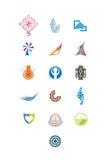 Γραφικά στοιχεία για το λογότυπο 3 Στοκ Φωτογραφίες