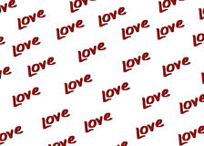 γραφική λέξη αγάπης απεικόνισης χεριών σχεδίων σχεδίου βάσης Στοκ εικόνες με δικαίωμα ελεύθερης χρήσης