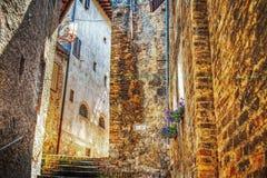 Γραφική αναλαμπή του SAN Gimignano Στοκ Εικόνες