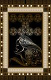 Γραφική απεικόνιση μιας κάρτας 11 Tarot Στοκ Εικόνα