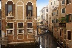 Γραφική εικονική παράσταση πόλης της Βενετίας Στοκ εικόνα με δικαίωμα ελεύθερης χρήσης