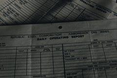 Γραφική εργασία - εγκαταλειμμένο εργοστάσιο επεξεργασίας σιδήρου - Νέα Υόρκη στοκ φωτογραφία